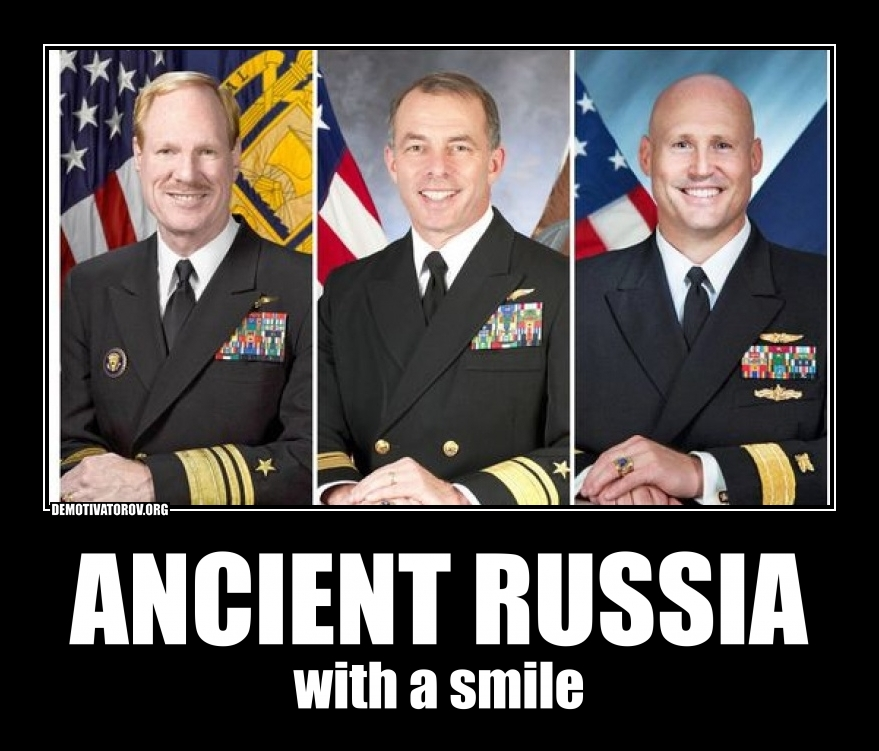 ANCIENT RUSSIA with a smile